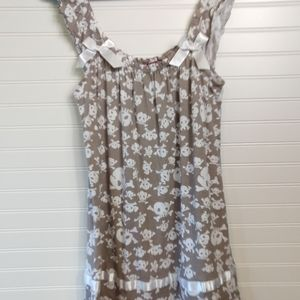 RUBY MOON | Skull And Bow Nighty Size XL